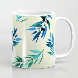 Olive leaves beige Coffee Mug