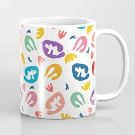 Abstract organic cut out shapes. Coffee Mug