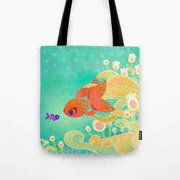 The golden meeting Tote Bag