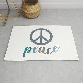 Peace- The symbol of peace Rug