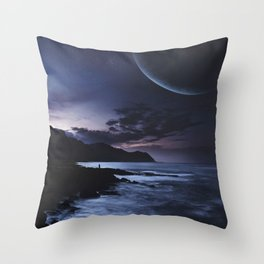 Distant Planets Throw Pillow