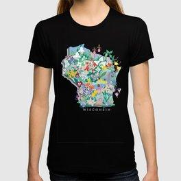 Wisconsin Wildflowers T-shirt