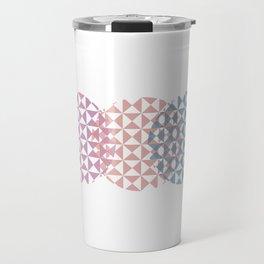 overlapping circles Travel Mug