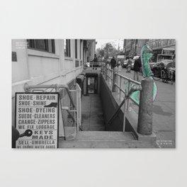 Unseen Monsters of New York - Zugswang Sharp Canvas Print