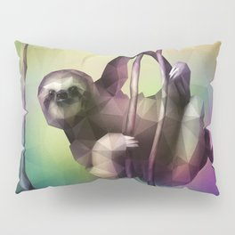 Sloth (Low Poly Multi) Pillow Sham