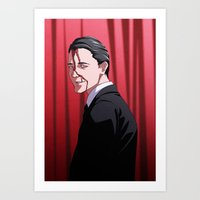 How's Annie? (Agent Cooper - Twin Peaks) Art Print