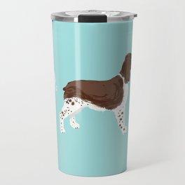 english springer spaniel funny farting dog breed gifts Travel Mug