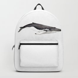 Humpback whale for whale lovers Backpack