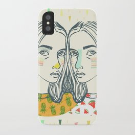 Last Sunset Twins iPhone Case