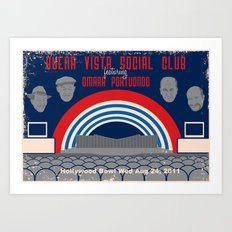 Buena Vista Social Club at the Hollywood Bowl Art Print