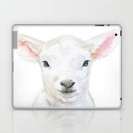 Lamb Face Watercolor Laptop & iPad Skin