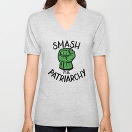 Smash The Patriarchy - Activist Collection Unisex V-Neck