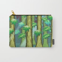 Forest of Pixels Carry-All Pouch