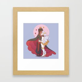 Aon and Chloe Framed Art Print