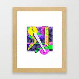 Role Model Framed Art Print