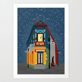 Caminito, La Boca Art Print
