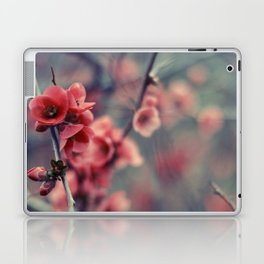 Flowering Quince Laptop & iPad Skin