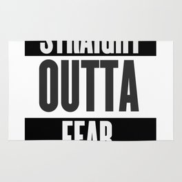 Straight Outta Fear Rug