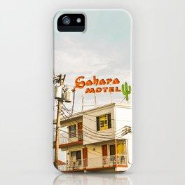 Sahara Motel iPhone Case