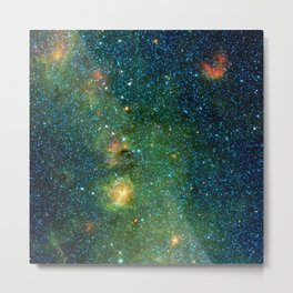 1323. Storm of Stars in the Trifid Nebula Metal Print
