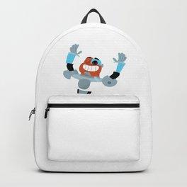 Teen Titans Go Flat Design - Cyborg Backpack