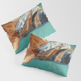 Johnny the Dog Rests Pillow Sham