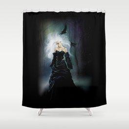 Light in Darkness Shower Curtain