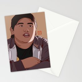 Guy In The Chair Stationery Cards