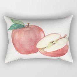 Apple and a Half Rectangular Pillow