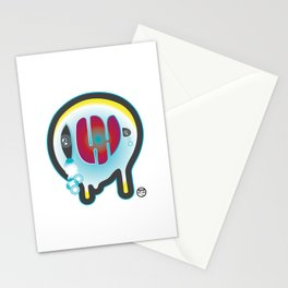 Ghost not cry Stationery Cards