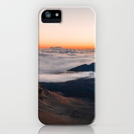 Haleakala Cliffs at Sunrise iPhone Case
