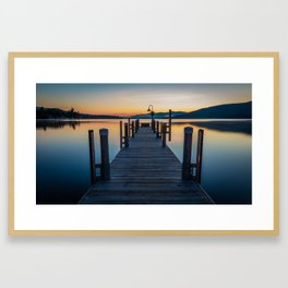 Lake George Framed Art Print