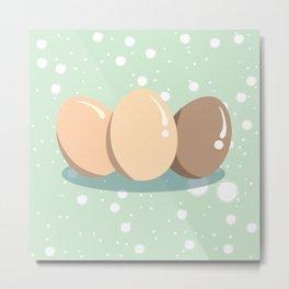 Eggs Metal Print