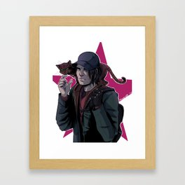 hobo buck Framed Art Print