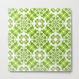 Fresh geometric pattern Metal Print