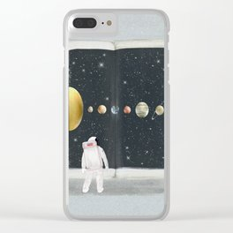 the big book of stars Clear iPhone Case