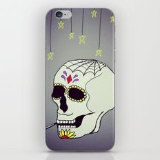 Skull Chill Out iPhone & iPod Skin