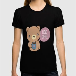Bear Loves Coffee T-shirt