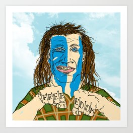 WILLIAM WALLACE Art Print