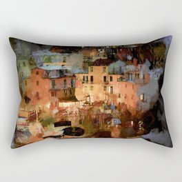 Cinque Terre Rectangular Pillow
