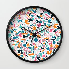 Abstract Disco 1.2 Wall Clock