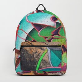 """Dances with waves"" Backpack"