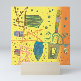 Fusion City Sultry Mini Art Print