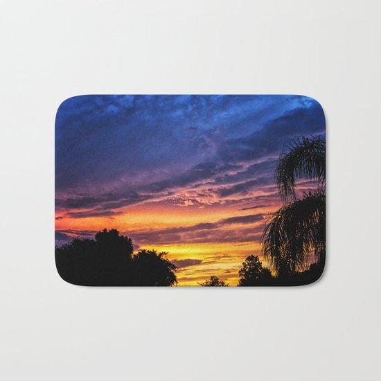 Florida Sunset Bath Mat
