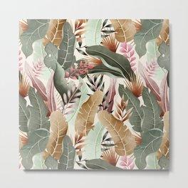 Wild jungle foliage 05 Metal Print