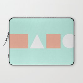 Turquoise & Coral (5) Laptop Sleeve