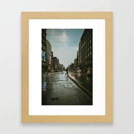 Rainy Moods Framed Art Print