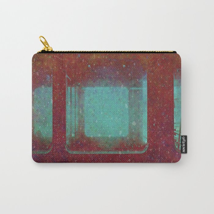 Into the City, Structure Windows Grunge Carry-All Pouch