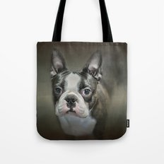 The Face Of The Boston Tote Bag