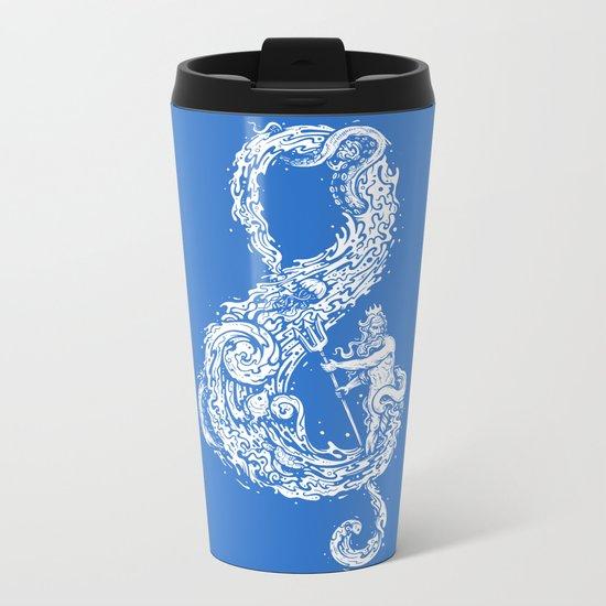 Sound of the Ocean Metal Travel Mug